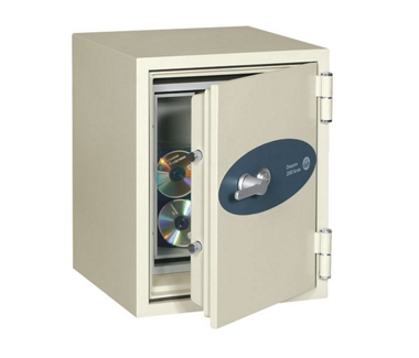 Fireproof Data Safe - .58 Cubic Ft Capacity, 31587