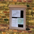 Wall Mounted Outdoor Message Center, 85691