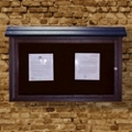 """Wall Mounted Outdoor Message Center - 40"""" x 30"""", 85694"""