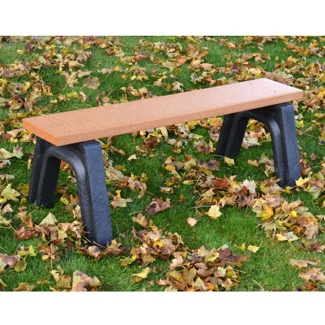 4' W Eco Friendly Outdoor Bench , 85885