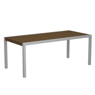 """73"""" x 36"""" Slatted Outdoor Table , 85897"""