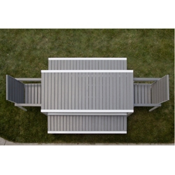 Outdoor Table and Bench Set, 85936