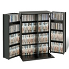 Locking Multi Media Storage Cabinet, CD00351
