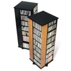 PrePac Four Sided Media Storage Spinning Tower, CD00306