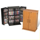 Compact Locking Media Cabinet, CD00330