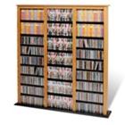 Media Organizer Oak Cabinet - Triple Width, CD00371