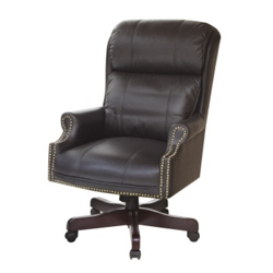 Traditional High-Back Judges Chair, 55554
