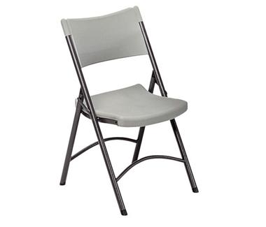 Lightweight Plastic Folding Chair, 51204