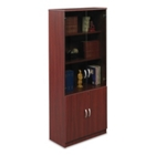 "Elite 79""H Glass-Door Storage Cabinet, 31847"