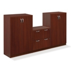 Storage Cabinet and Lateral File Set, 31898