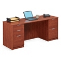 "Solutions Double Full Pedestal Desk - 71"" x 36"", 13999"
