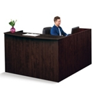 """Solutions Reception L-Desk with Right Return - 71""""W, 10069"""