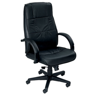 High Back Leather Executive Chair, 50453