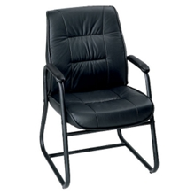 Mid-Back Leather Guest Chair, 50455