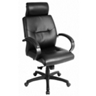 Leather High-Back Chair, 50778