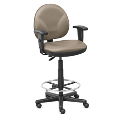 Drafting Stool with Foot Ring - Hundreds of Colors Available, 56582