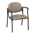 Upholstered Guest Chair with Arms - Hundreds of Colors Available, 56583