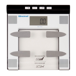 Brecknell Body Fat/Bathroom Scale, 25471