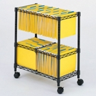 Mobile Wire File Cart, 31593