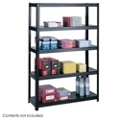 "Steel Shelving Unit - 48.5"" W x 18.25"" D x 72"" H, 36332"