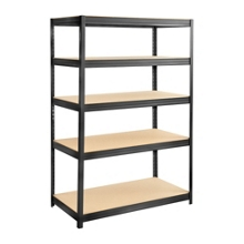 "Particleboard Shelving Unit - 48"" W x 24"" D x 72"" H, 36335"