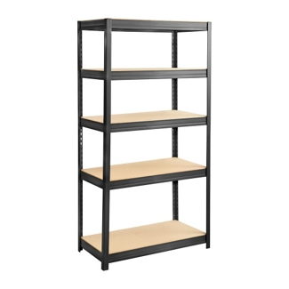 "Particleboard Shelving Unit - 36""W x 18"" D x 72"" H, 36336"