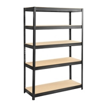 "Particleboard Shelving Unit - 48"" W x 18"" D x 72"" H, 36337"