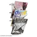Three Pocket Wall-Mounted Magazine Rack, 36339