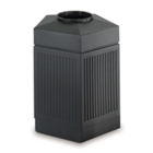 45 Gallon Pentagon Waste Receptacle, 90916