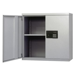 Wall-Mount Storage Cabinet with Keyless Electronic Lock, 31772
