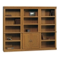 Carolina Oak Bookcase Wall Group, 13064