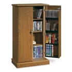 Carolina Oak Multimedia Storage Cabinet, CD01837