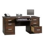 """65-1/2"""" Compact Executive Desk, CD01840"""