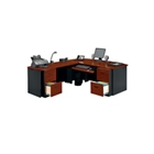 Executive Bow Front L Desk, CD01917