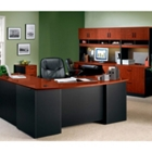 VIA Complete Office Grouping with L-Shaped Desk, 15439