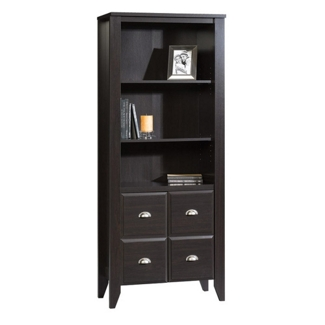 Contemporary Bookcase with Closed Storage, 32871