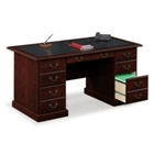 Traditional Executive Desk with Inlay Top, 60886
