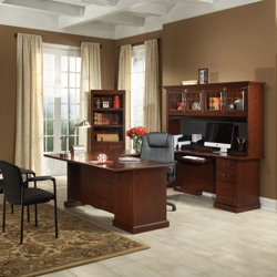 Heritage Hill U-Desk and Bookcase Set, 86219