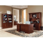 Palladia Executive Desk and Credenza Office Set, 86220