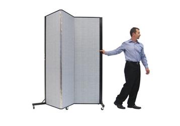 "Portable Room Divider - 5'9""L x 6'5""H, 21478"