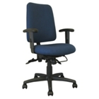 Mid Back Ergonomic Chair with Designer Fabric, CD02507