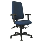 High Back Ergonomic Chair with Designer Fabric, CD02509