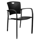 Stack Chair with Arms, CD02489