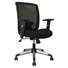 Mesh Back Chair with Titanium Accents, CD02484