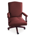 Traditional Mid Back Fabric Executive Chair, 55386