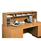 Woodgrain Desktop Organizer, 33346