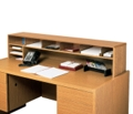Woodgrain Desktop Organizer, 33347