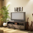 Skyline Chocolate Wood Television Stand, CD00141