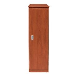 Behavioral Health Single Wardrobe Cabinet with Right Hinge Door, 25728