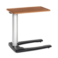 """Adjustable Height Overbed Table with U-Base- 32""""W , 25735"""